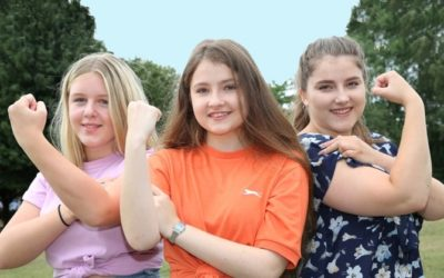 Our new 'Strong Girls Can' programme is launched